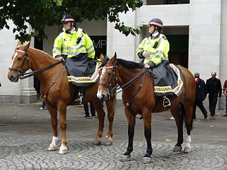 Project Servator - Mounted City of London Police