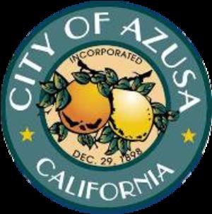 Azusa, California - Image: City seal of Azusa, California