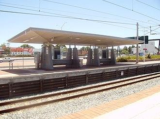 Claisebrook railway station - Image: Claisebrook