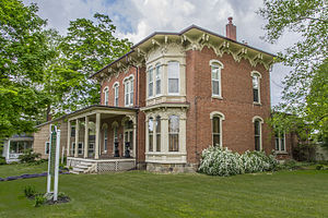 National Register of Historic Places listings in St. Joseph County, Michigan - Image: Clapp House I