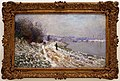 Claude monet, sentiero d'alzaia ad argenteuil, inverno, 1875-76.jpg