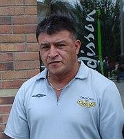 Borghi nel 2006, in veste di tecnico del Colo-Colo.