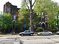 Cleveland, Central, 2018 - Prospect Avenue Rowhouse Group, Prospect Avenue Historic District, Midtown, Cleveland, OH (28286364278).jpg