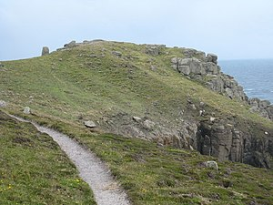 Promontory forts of Cornwall - Carn Les Boel