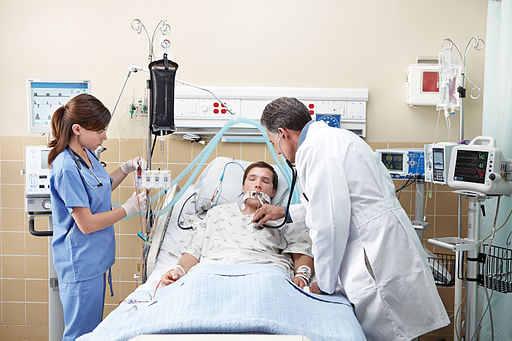 Clinicians in Intensive Care Unit