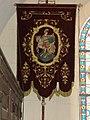 Cliponville (Seine-Mar.) église, bannière de procession 1.jpg