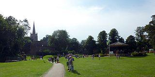 Oakham Human settlement in England