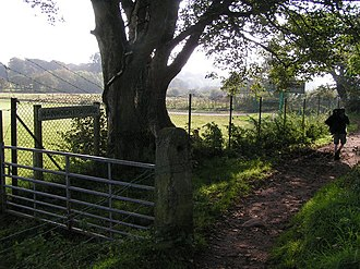 Cleator - Image: Coast to Coast Path, near Cleator geograph.org.uk 269862