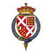 Coat of arms of Sir Henry Neville, 5th Earl of Westmorland, KG.png