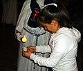 Cofradía de la Oración de Nuestro Señor en el Huerto de los Olivos y María Santísima de la Amargura, Granada, Semana Santa 2009 (13).JPG