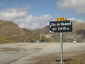 Image illustrative de l'article Col de Granon