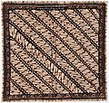 Collectie NMvWereldculturen, RV-847-117, Batikpatroon, 'Parang rusak putri', voor 1891.jpg
