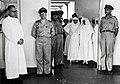 Collectie NMvWereldculturen, TM-60042229, Foto- Onthulling van een plaquette van de Britse regering in de hal van het Charitas hospitaal in Palembang, 26 aug. 1948--, 1948.jpg
