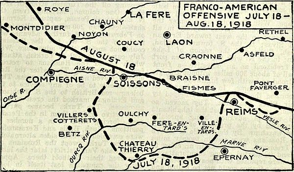 Collier's 1921 World War - Franco-American offensive.jpg