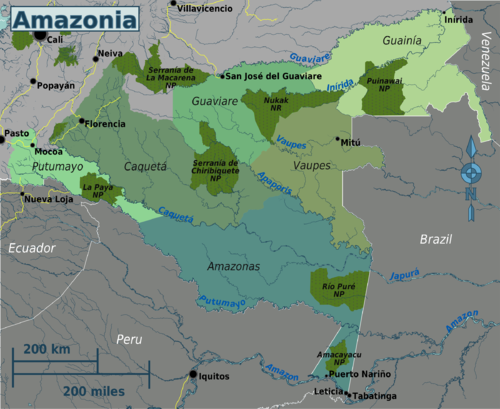 Colombian Amazonia regions map.png