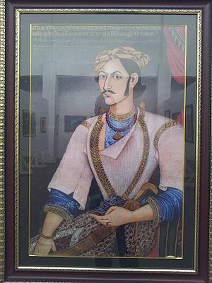 Mathabarsingh Thapa - Image: Colonel Mathabar Singh Thapa 2