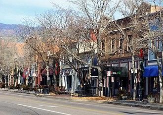 Old Colorado City - Old Colorado City Business District