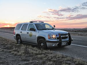 Colorado State Patrol - Colorado State Patrol Chevrolet Tahoe near Sterling, CO