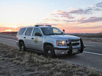 Colorado State Patrol - Colorado State Patrol Chevrolet Tahoe near Sterling, CO