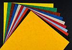 Цветные листы бумаги