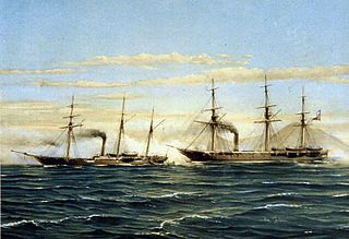 Battle of Papudo Naval battle of the Chincha Islands War