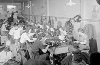 Commercial. Clothing Factory. St. Hubert street, Montreal. Maurice Laniel BAnQ P48S1P06570.jpg