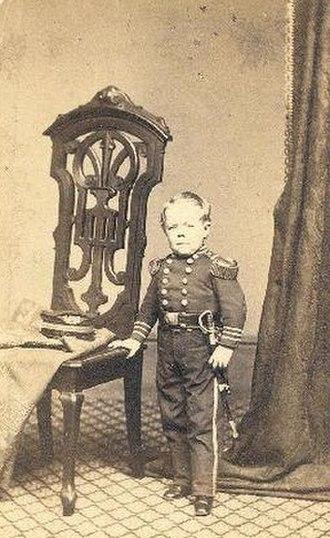 Commodore Nutt - Commodore Nutt in uniform, about 1865