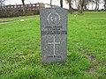 Commonwealth War Grave in Jarrow Cemetery (WW1-37) - geograph.org.uk - 1604151.jpg