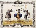 Compagnie de Charost de la Maison du Roy (Gardes du corps avec tambour et trompette).jpg