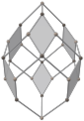 Concertina cube with alternating vertex colors; gray rhombs.png