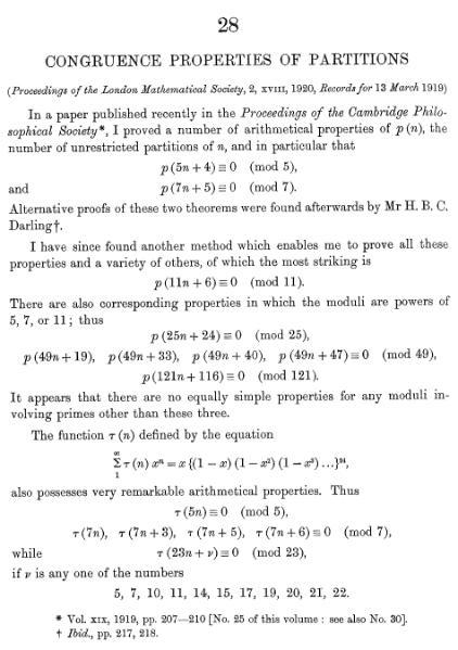 File:Congruence properties of partitions.djvu