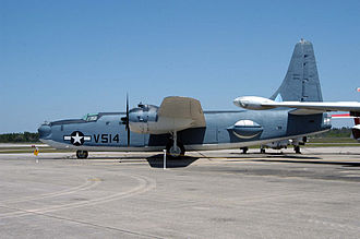 Consolidated PB4Y-2 Privateer - PB4Y-2 BuNo 66261 (marked as BuNo 66304) in the collection of the National Naval Aviation Museum at NAS Pensacola, Florida.