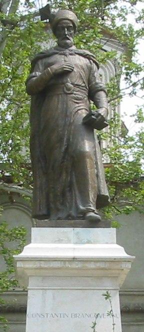 Constantin Brancoveanu statuie