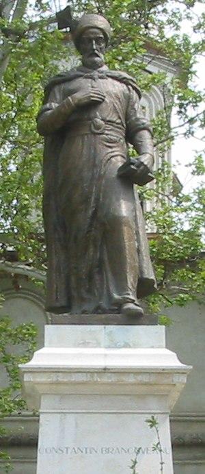 Constantin Brâncoveanu - Brâncoveanu's statue in Bucharest