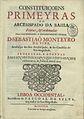 Constituiçoens primeyras do Arcebispado da Bahia, 1719.jpg