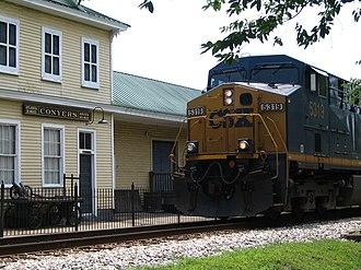 Conyers, Georgia - Conyers Depot