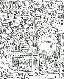 Copperplate Map Of London Wikipedia