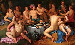 Cornelis van Haarlem: Before the Deluge