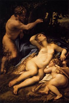 Correggio - Venus and Cupid with a Satyr - WGA05346.jpg
