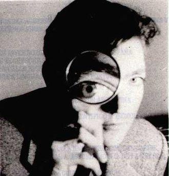 Argentine literature - Julio Cortázar in 1967, photograph by Sara Facio.