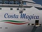 Costa Magica Name Sign Port of Tallinn 17 May 2018.jpg