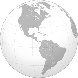 Costa Rica (orthographic projection).svg