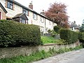 Cottages perched above East Harting Street, East Meon - geograph.org.uk - 795305.jpg