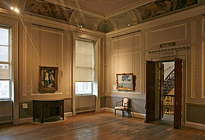 Courtauld Gallery - Interior of the Courtauld Gallery