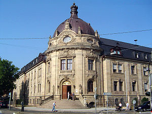 Landau - Courthouse