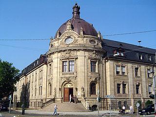 Landau Place in Rhineland-Palatinate, Germany