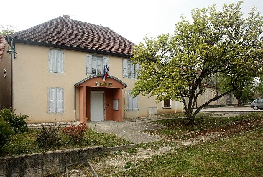 Mairie de Courtefontaine (Jura).