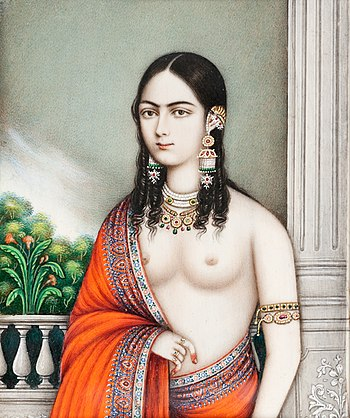 Courtesan, India