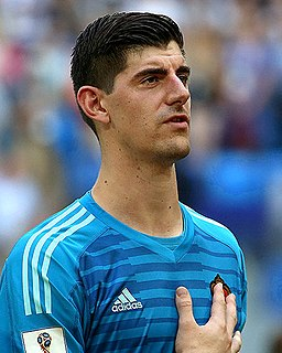 Thibaut Courtois Belgian association football player