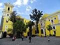 Courtyard of Templo Nuestra Senora de La Merced - Centro Historico - Puebla - Mexico (15351210939).jpg